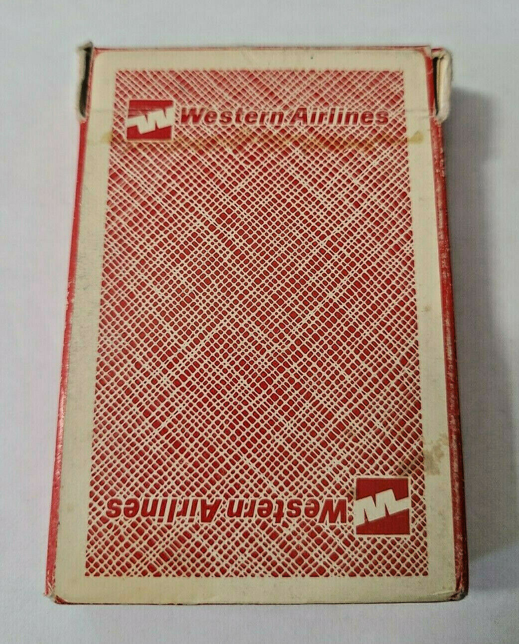 Western Airlines Kent St. Paul, Minn Deck of Playing Cards   (#42)