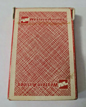Western Airlines Kent St. Paul, Minn Deck of Playing Cards   (#42) image 1