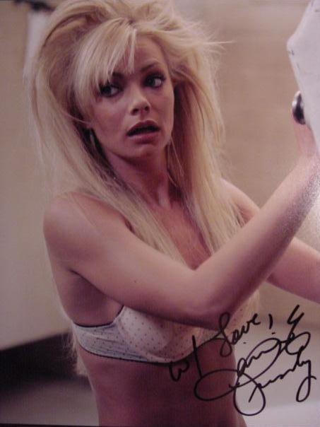 Jamie  Pressly hand signed autographed sexy hot photo
