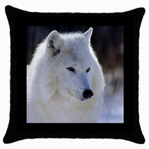 Throw Pillow Case Decorative Cushion Cover Arctic Wol Gift model 30399460 - $16.99