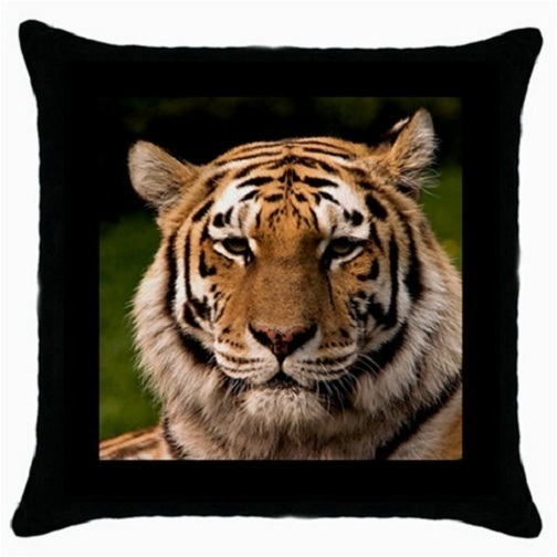 Throw Pillow Case Decorative Cushion Cover Asian Tige Gift model 30399416