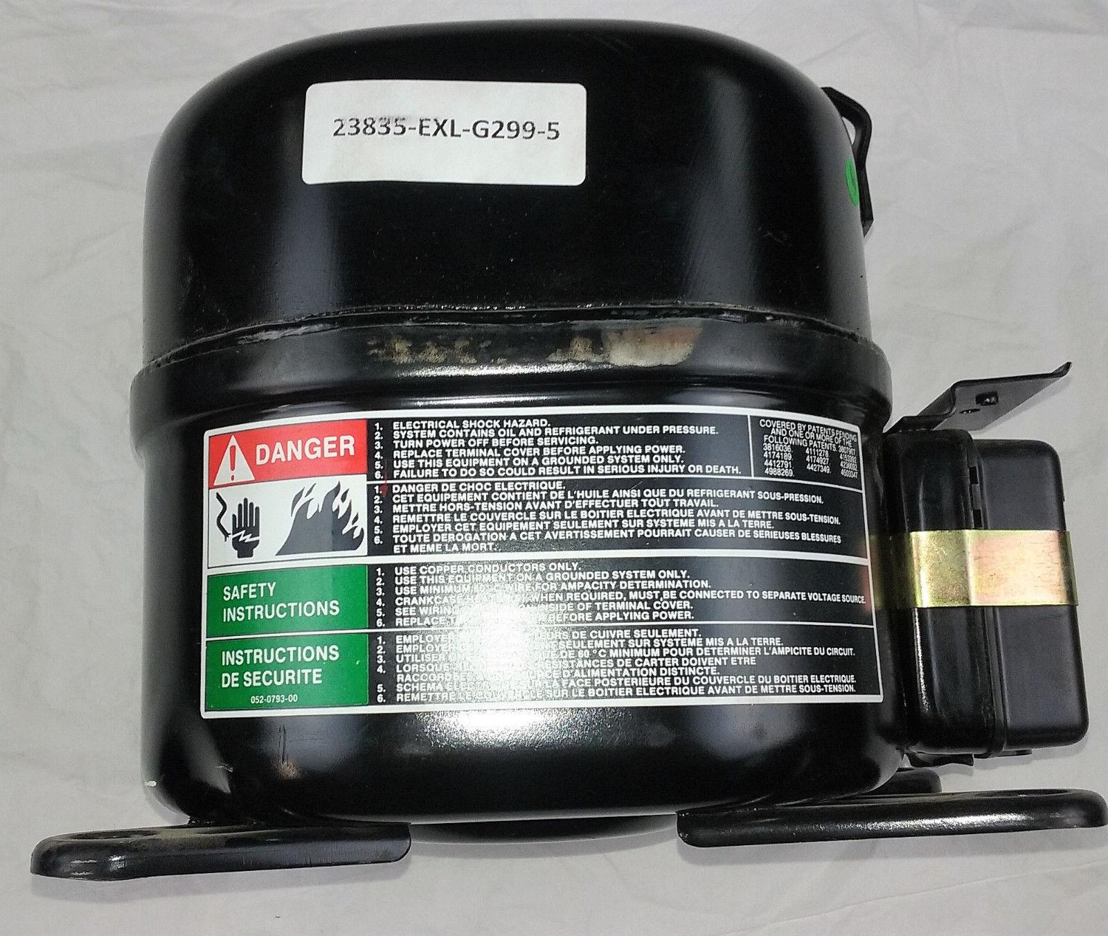 Compressor Refrigeration Copeland JRL4-0050-IAA-724 Volts 115-110 image 3