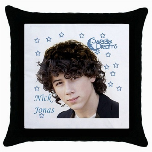 Throw Pillow Case Decorative Cushion Cover Nick Jonas Sweet Dreams 15689565