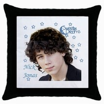 Throw Pillow Case Decorative Cushion Cover Nick Jonas Sweet Dreams 15689565 - $16.99