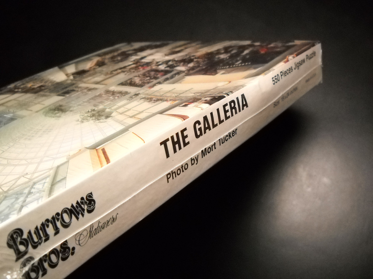 Burrows Bros Jigsaw Puzzle The Galleria Cleveland Mort Tucker Photography Sealed