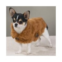 Casual Canine SMALL SABLE Luxurious Faux Mink Coat  DOGGIE MINK COAT