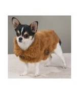 Casual Canine SMALL SABLE Luxurious Faux Mink Coat  DOGGIE MINK COAT - $9.95