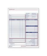 "Job Invoice Forms, 2 Part, Carbonless, 8 1/2""x11 7/16""    - $18.89"