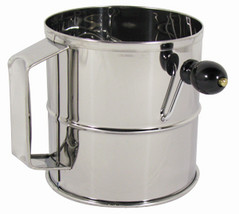 NEW Professional 8 Cup Stainless Steel Flour Sifter - $19.99