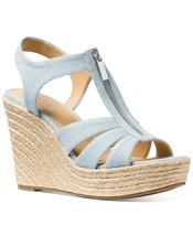 Michael Michael Kors Berkley Espadrille Wedge Sandals Size 10 - $113.84
