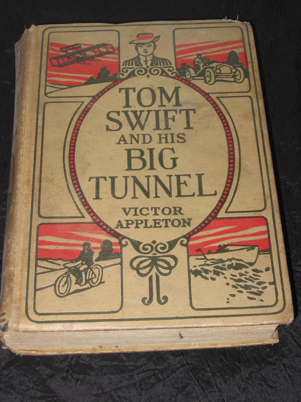 1916 Tom Swift and his Big Tunnel Victor Appleton