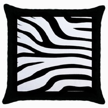 Throw Pillow Case Decorative Cushion Cover Zebra Print Gift model 24176491 - $16.99