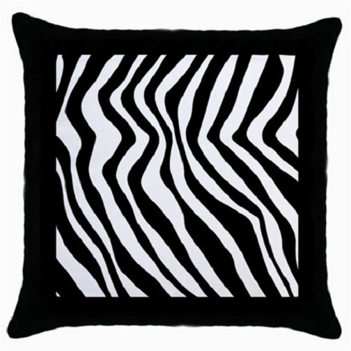 Throw Pillow Case Decorative Cushion Cover Zebra Stripe Gift model 18698383