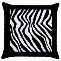 Throw Pillow Case Decorative Cushion Cover Zebra Stripe Gift model 18698383 - $16.99