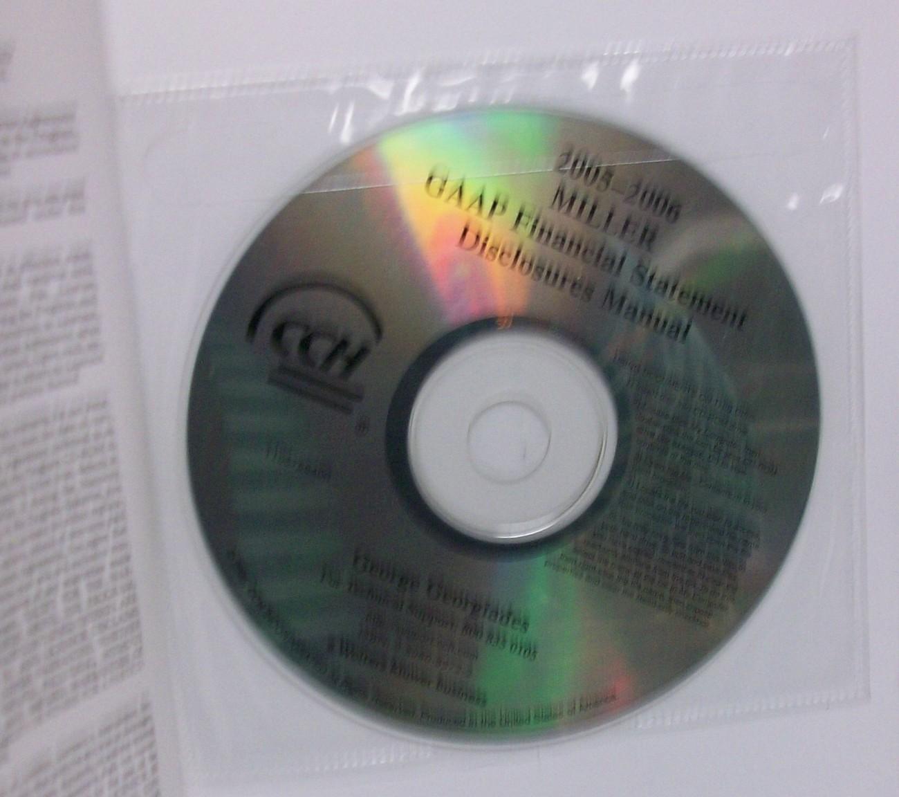 GAAP Financial Statement Disclosures Manual