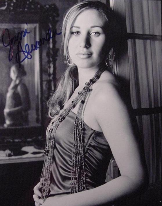 Jessi Alexander hand signed autographed photo Country singer