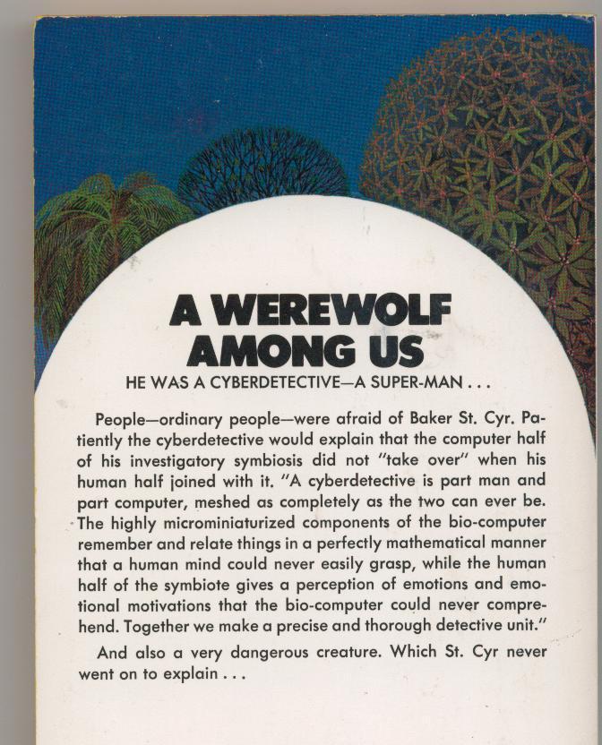 Koontz--A WEREWOLF AMONG US--1973--1st printing--nice copy