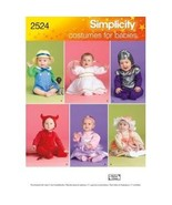 Simplicity Pattern 2524 Baby Halloween Costumes  - $16.00