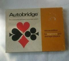 Vintage Autobridge Self-Teaching Bridge System - $14.28