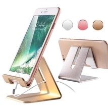 Mobile Phone Holder Stand For iPhone X 8 7 Plus Aluminum Alloy Telefon T... - $4.56