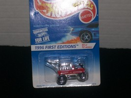 Hot Wheels 1996 First Editions Red Radio Flyer Wagon  #374 - $10.00