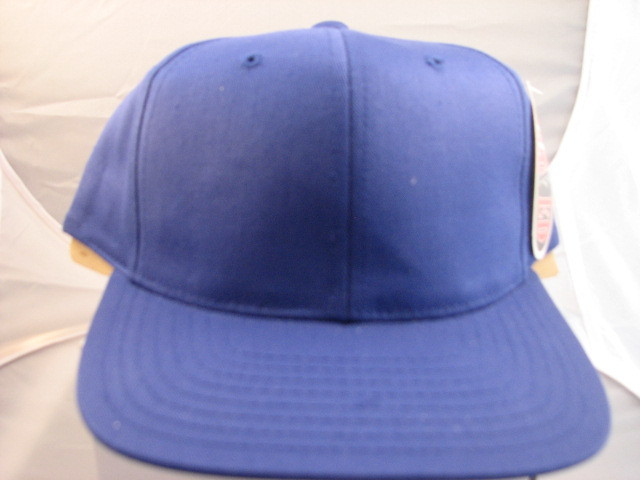 Plain Baseball Caps  Royal Blue