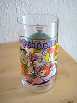 "1991 Hardee's The Flintstones ""The Blessed Event"" Tall Glass  - $14.00"