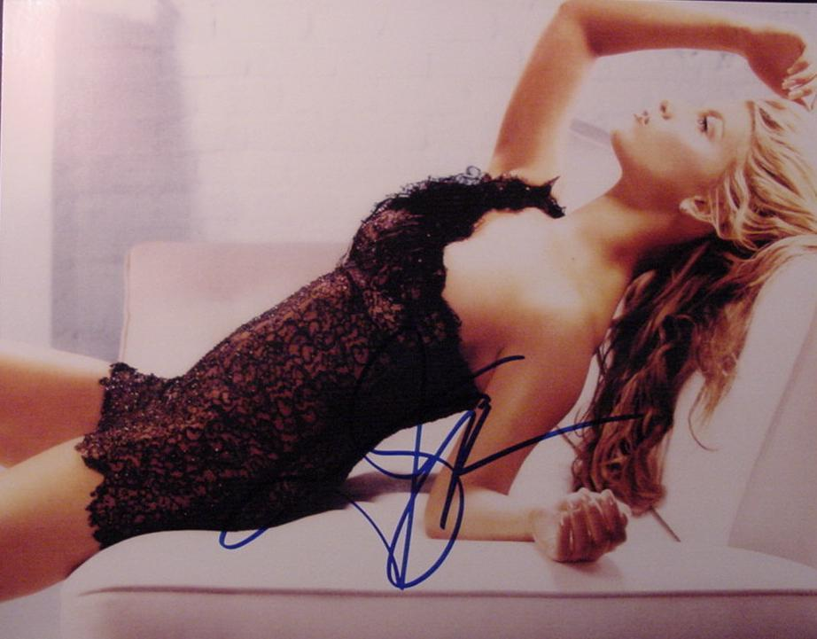 Jessica Simpson hand signed  autographed sexy hot photo