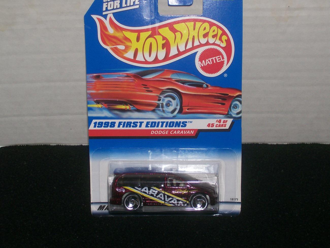 Hot Wheels Dodge Caravan 4 Of 45 Error Card