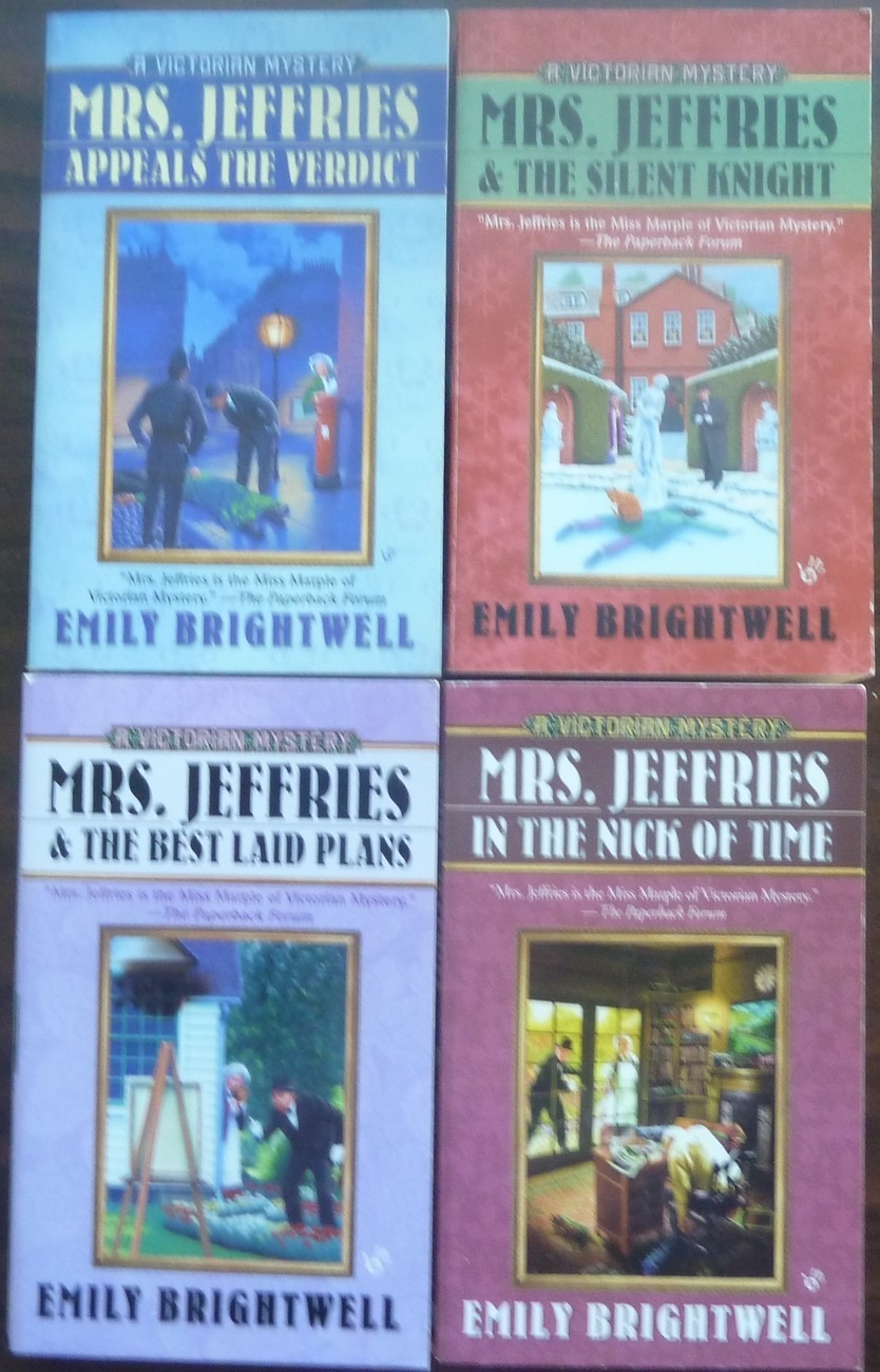 4 Mrs Jeffries Mysteries The Silent Knight by Emily Brightwell