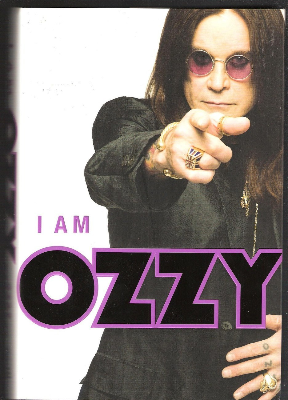 I AM OZZY  HC/DJ  Stated First  U.S. Edition 2010 Book