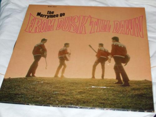 The Merrymen Go Barbados From Dusk till Dawn  Vinyl LP 33 1/3 Gatefold Jacket