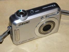 Sony Cyber-Shot DSC-S650 7.2MP - Digital Camera - Silver - $47.74