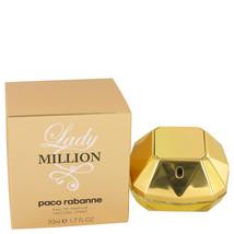 Lady Million by Paco Rabanne Eau De Parfum Spray 1.7 oz for Women - $58.24