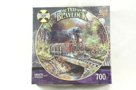 Master Pieces Logging Run Railways By Ted Blaylock Jigsaw Puzzle 700 pcs... - $23.71
