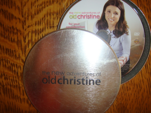 THE NEW ADVENTURES OF OLD CHRISTINE EMMY DVD 4EPISODES