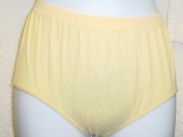 Jockey Seamfree Panty 6/Medium Light Yellow SP-Slightly Imperfect Lot of 3 NWOT - $15.99