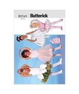 Butterick Patterns B5545 Children's/Girls' Leotard, Skirt, Bag  Size 2-3... - $14.00