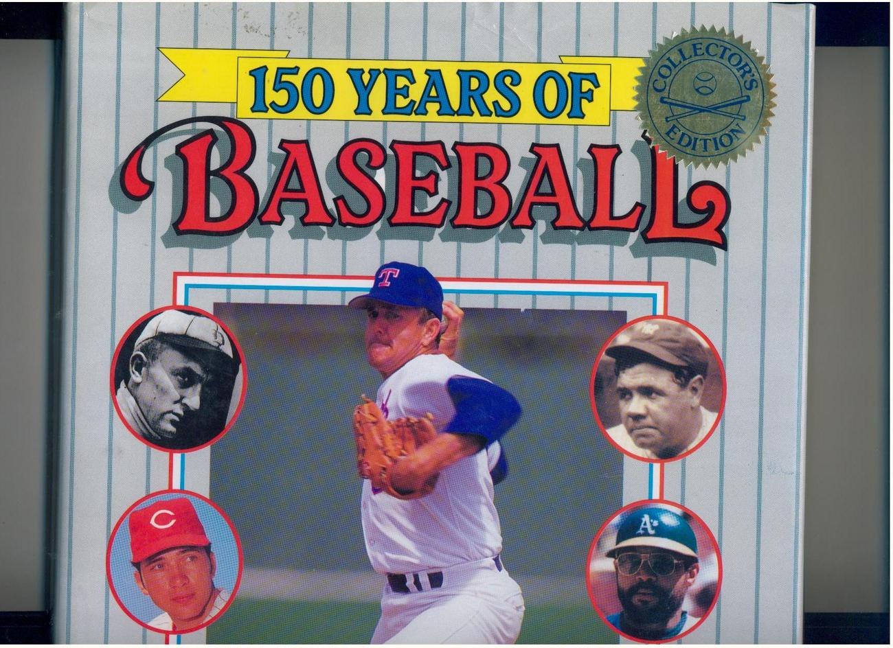 150 YEARS OF BASEBALL--1989--LAVISH HISTORY OF THE SPORT--PROFUSELY ILLUSTRATED