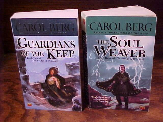Lot of 2 Bridges of D'Arnath Series PB Books by Carol Berg no. 2 and 3 paperback