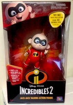 Disney Pixar The Incredibles 2 Jack Jack Talking Action Figure Interactive New - $49.99