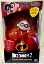 Disney Pixar The Incredibles 2 Jack Jack Talking Action Figure Interacti... - $49.99