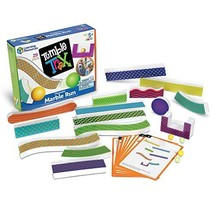 Learning Resources Tumble Trax Magnetic Marble Run, STEM Toy, 28 Piece Set, - $40.78