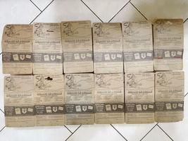 Lot (12) NOS Vintage 1974 Mattel Heroes in Action Card Figure Sealed Package image 9