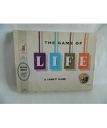 Vintage 1960 Milton Bradley Game of Life Board Game Complete Set Minus No. Board - $44.99