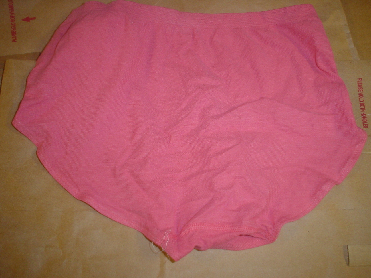 Jockey Seamfree Panty 6/Medium or 8/XLarge Rose SP-Slightly Imperfect NWOT