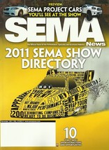 SEMA 2011 industry show Directory catalog + Pocket Guide Specialty Equip... - $10.00