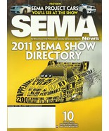 SEMA 2011 industry show Directory catalog + Pocket Guide Specialty Equip... - $9.99