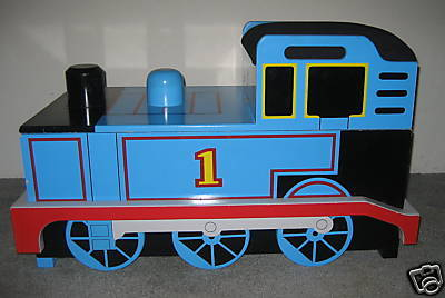 Thomas The Tank Engine Train Wooden Toy Box Amp Bench Other