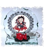 Betty Boop Mother's Day gift Collectable crystal Cut glass Plaque  #8 - $33.65